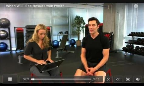 When will I see results with P90X?
